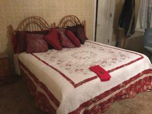 Tillinghast Manor Bed & Brunch room with a bed
