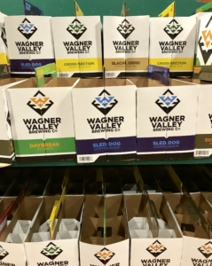 Tillinghast Manor Empty Wagner Valley Brewing Co Packages