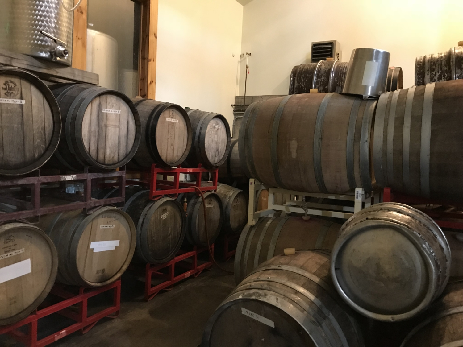 Tillinghast Manor - Wine Barrels