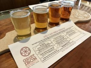 Tillinghast Manor - Beer Tasing from Grist Iron