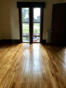 Tillinghast Manor - Parlor Floors After looking out the window