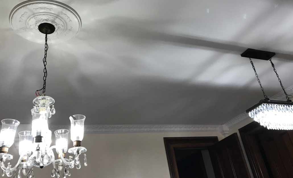Tillinghast Manor - Dining Room Ceiling After