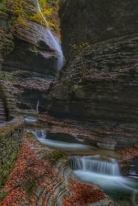 Tillinghast Manor - Watkins Glen Water Falls